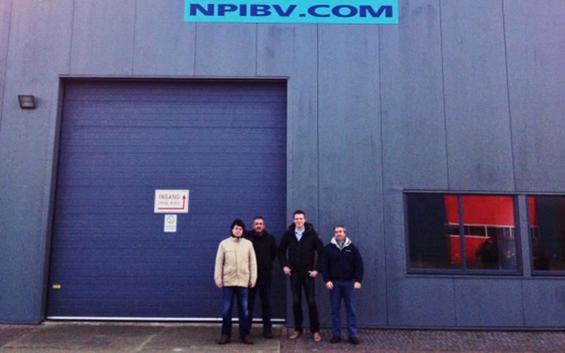 Visita às instalações da NPI, na Holanda